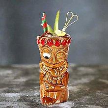 Tiki Mugs Ceramic,Ceramic Hawaiian Party Mugs