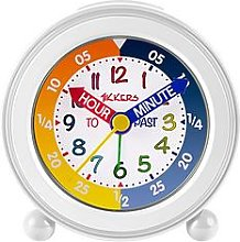 Tikkers Multicoloured Time Teacher Wall Clock