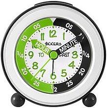 Tikkers Time Teacher Alarm Clock – Black and
