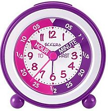 Tikkers Time Teacher Alarm Clock – Pink and