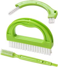 Tile Brushes (3 in 1) Grout Cleaner Joint Scrubber