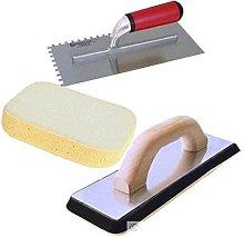 Tilers Tool Kit Grout Float Ceramic Tile Sponge +