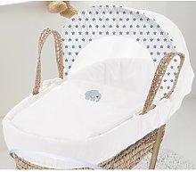 Tilley Moses Basket Bedding Set Isabelle & Max