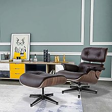 Tilt Recliner Chairs Real Leather Swivel Lounge