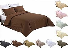 Tim's Textile Chocolate Bedding Duvet Cover 3