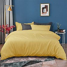 Tim's Textile Yolk Yellow Bedding Duvet Cover-