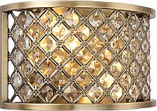 Tim Decorative Antique Brass with Crystal Bead