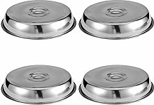Timagebreze 4 Pieces Cheese Melting Dome 9 Inches