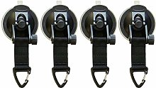 Timagebreze 6X Suction Cup Anchor Securing Hook