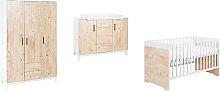 Timber 3 Piece Nursery Furniture Set Schardt