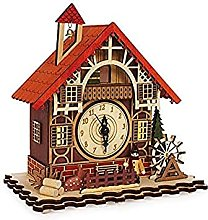 Timber framed Swiss Style House Clock