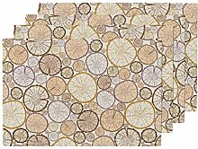 Timber Heat Resistant Placemat Woodland Modern