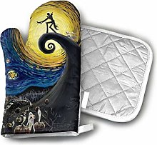 Timdle Oven Mitt and Pot Holder Set Dead The