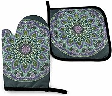 Timdle Oven Mitts Potholders Kitchen Oven