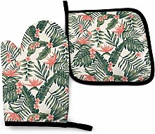 Timdle Tropical Palm Trees Dark Green Leaves And