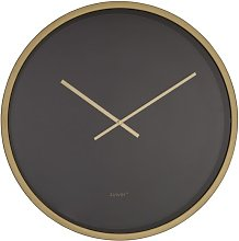 Time Bandit Clock black and brass