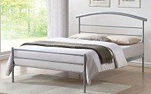Time Living Brennington Metal Bed Frame, Single