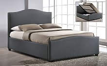 Time Living Brunswick Ottoman Fabric Bed, Double,