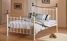 Time Living Elizabeth Metal Bed Frame, Double,