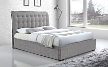 Time Living Hamilton Fabric Bed Frame, Double,