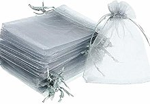 Time to Sparkle 100pcs Pouches Organza Gift Bags