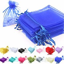 Time to Sparkle 200pcs Organza Gift Bags Wedding