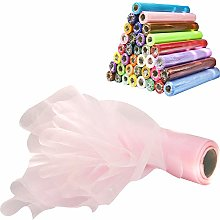 Time to Sparkle 2PCS 26M x 29cm Sheer Organza Roll