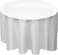 Time to Sparkle 5 Pack Round Polyester Tablecloth,