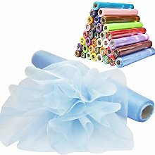 Time to Sparkle 5PCS 26M x 29cm Sheer Organza Roll