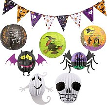 Time to Sparkle 8pcs Halloween Decorations Kit,