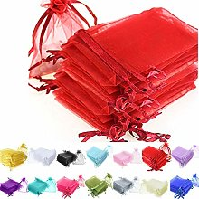 Time to Sparkle TtS 200pcs Organza Gift Bags