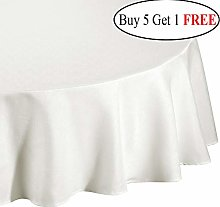 Time to Sparkle TtS Round Polyester Tablecloth,