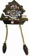 Time Traveler Go Cuckoo Clock Austria Refrigerator