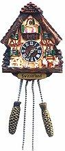 Time Traveler Go Switzerland Cuckoo Clock