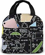 Timeless Treasures Math Lunch Bag,Reusable
