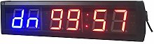 Timer 2.3-inch 6 Digits Gym Interval LED Countdown