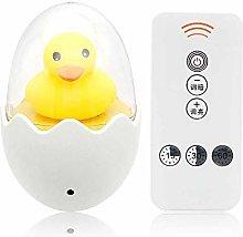 Timing LED Night Light 110V 220V Yellow Duck EU