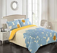 Tims Textiles Duvet Cover Set - Reversible and