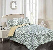 Tims Textiles Printed Duvet Cover Set Cotton