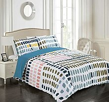 Tims Textiles Printed Duvet Cover With Pillow