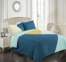 Tims Textiles Reversible Bedding Set, Cotton Duvet