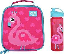 Tinc Flamingo Lunch Bag & Water Bottle - 500ml