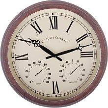 Tincup 38.5cm Wall Clock Borough Wharf