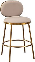 TINGHAO Pub Barstool Modern Bar Chair with Back