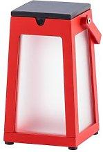 Tinka LED solar lantern portable, red