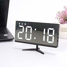 TiooDre Digital Alarm Clocks for Bedrooms, Mirror