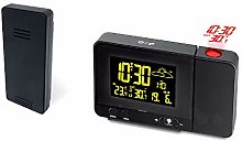 TiooDre Projection Alarm Clock,HD Dsiplay, Digital
