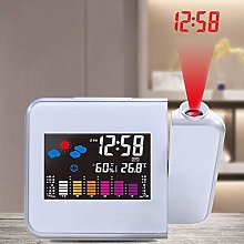 TiooDre Projection Alarm Clock,Large LED
