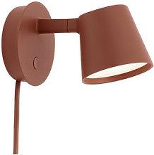 Tip LED Wall light with plug - / Adjustable -