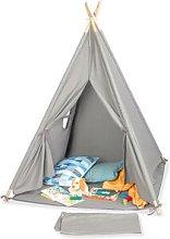 Tipi Aponi Play Tent Pinolino Colour: Grey